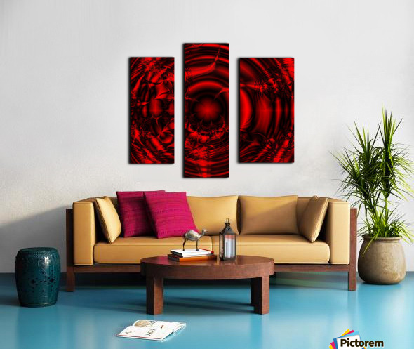 RedCell Canvas print