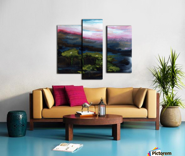 Channeling Monet Canvas print