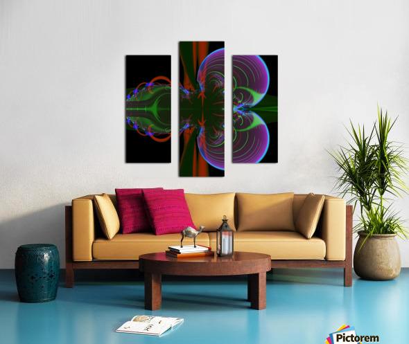 Penetration Canvas print