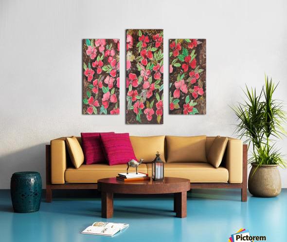 Redflowers Canvas print