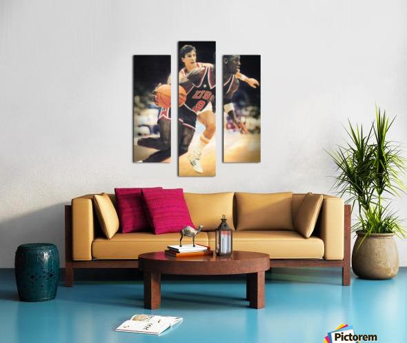 1984 Michael Jordan USA Basketball Art Canvas print