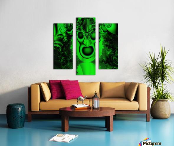 High Shaman Canvas print