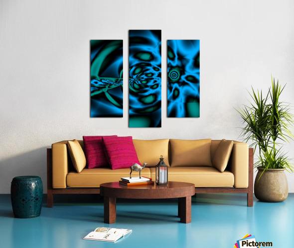Wormhole approach Canvas print