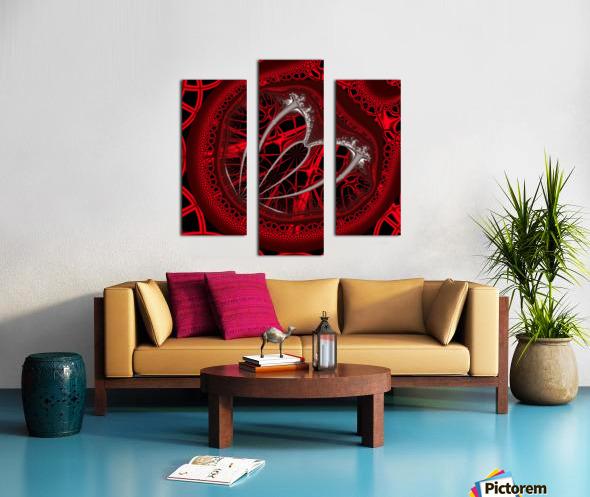 Vampyric cell Canvas print