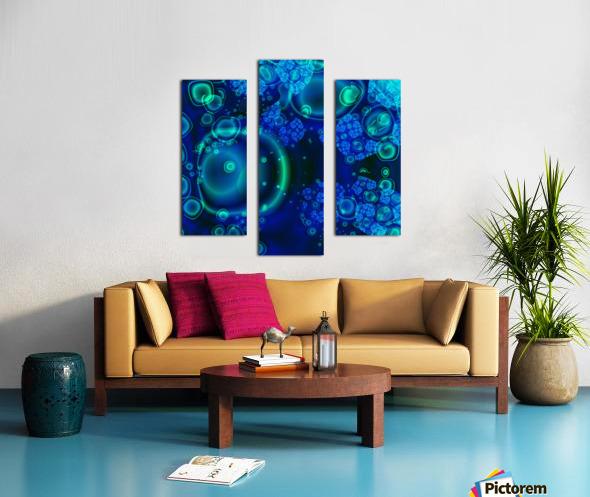 SeaCells Canvas print