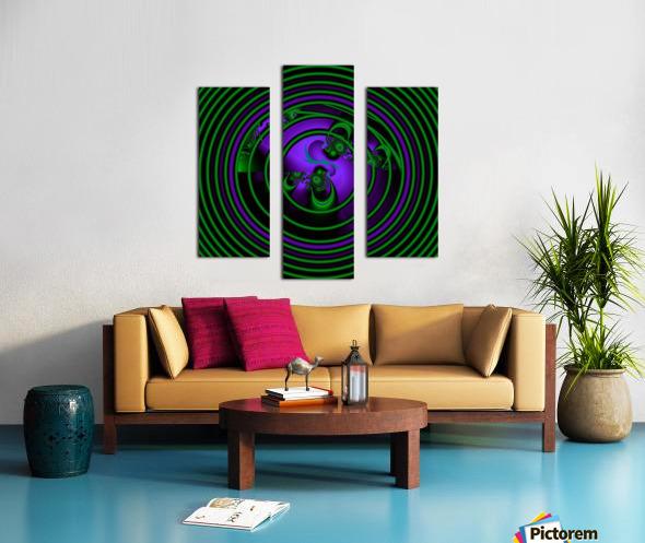 SETI Transmission Canvas print