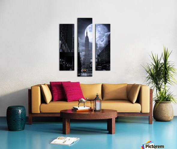 Empire2 Canvas print