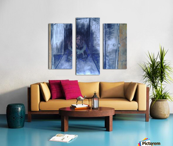 The Shame Closet Canvas print