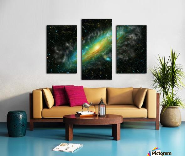 A Trillion Stars   Canvas print