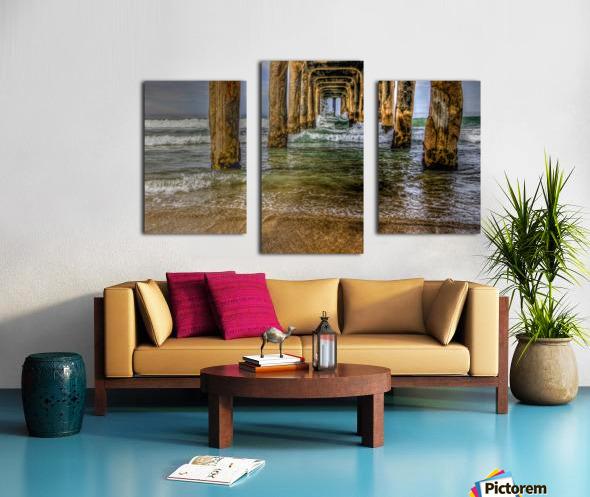 Gateway To The Sea Canvas print