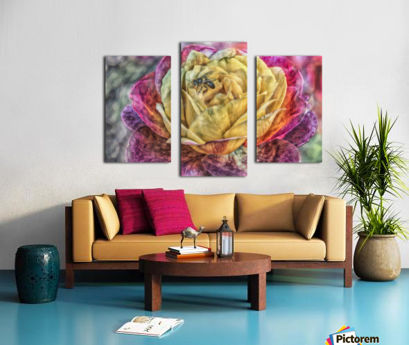 Beezy Blossom Canvas print