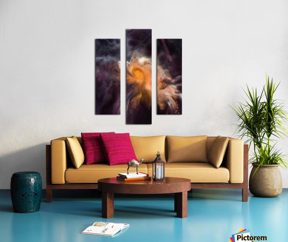 Painting The Heavens Canvas print