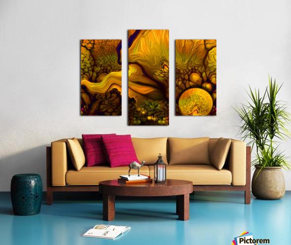 Pollens Summer Glow 2 Canvas print