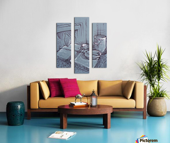 Drenthe Corner  Canvas print