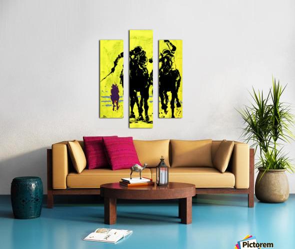 Triple Crowned Canvas print
