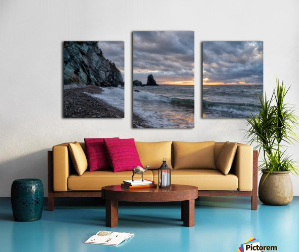 Presquile Sunset Canvas print