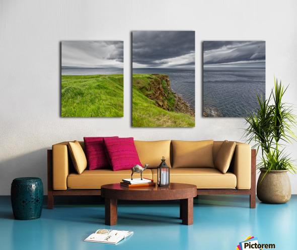 Cheticamp Island Drama Canvas print
