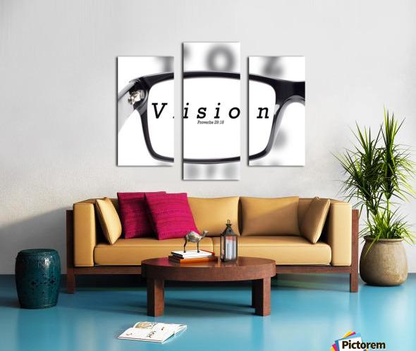 vision 2 Canvas print