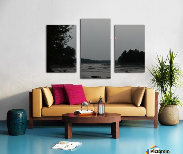 Smog Impression sur toile