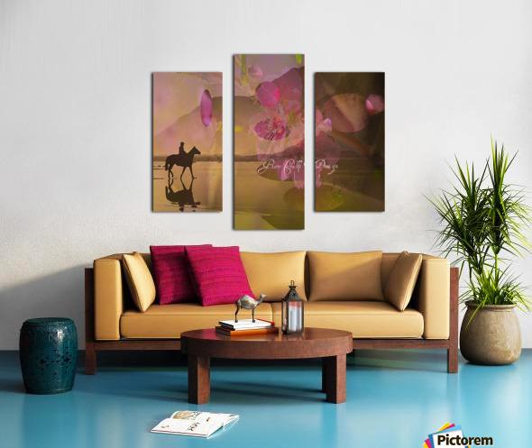 ARTCHEVALFLEURAGC16000 Canvas print