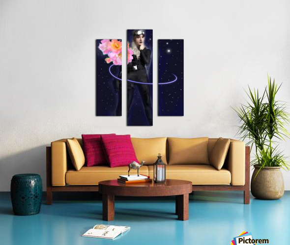 Cosmic Colleen Canvas print