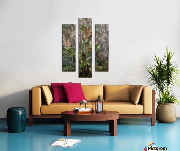 Layton castle  Canvas print