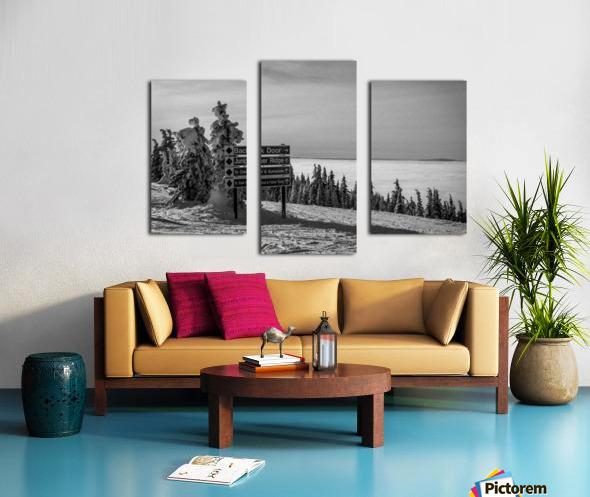 Quiet Ease Canvas print