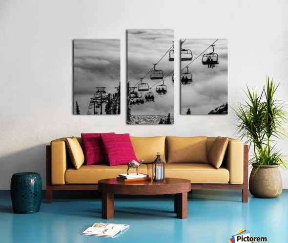 Crystal Clouds Canvas print