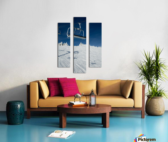 Suspended Prolonging Canvas print