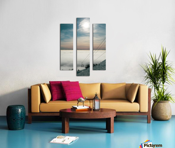 Sun Scape Canvas print