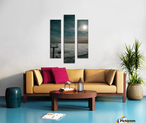 Rising Above Canvas print