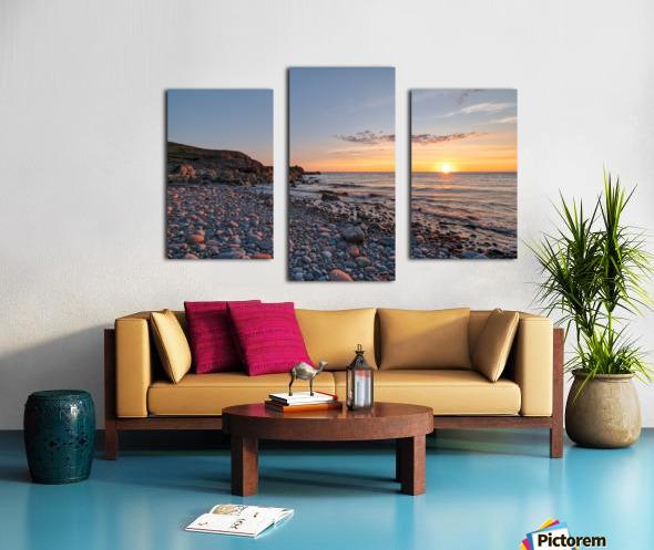 Corney Brook Sunset Canvas print