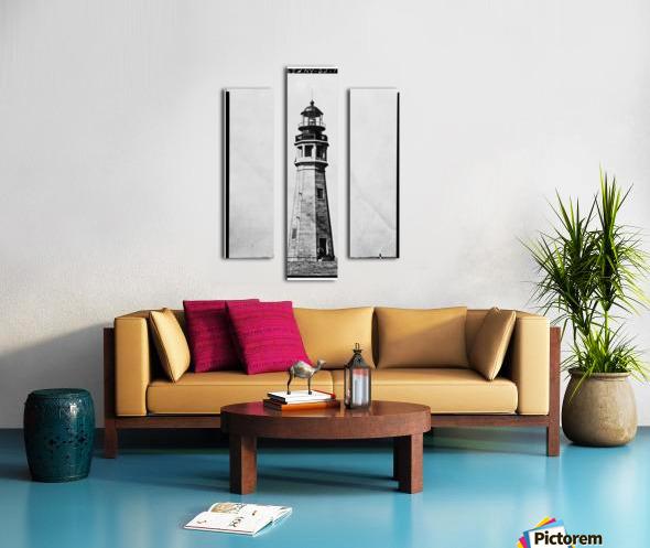 Buffalo Lighthouse, New York Canvas print