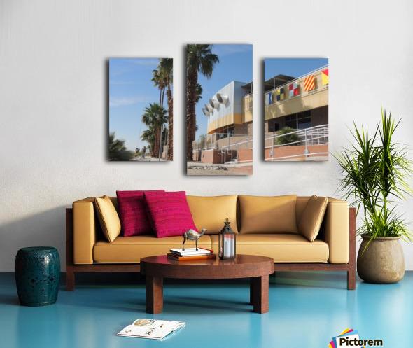 North Shore Beach & Yacht Club 2 Canvas print