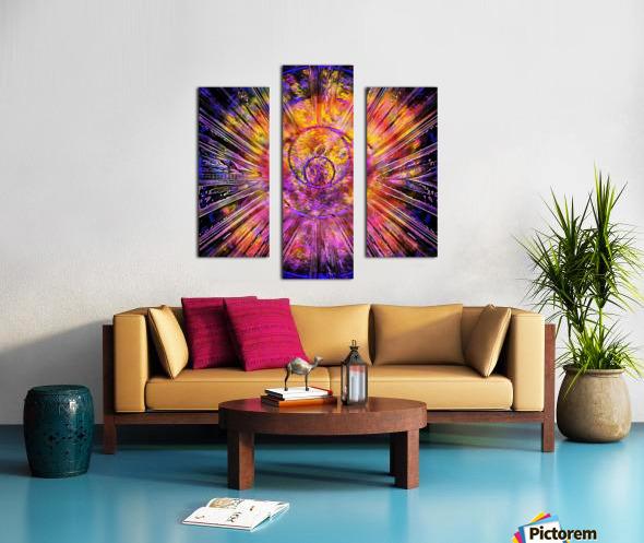Light Body Activation Canvas print