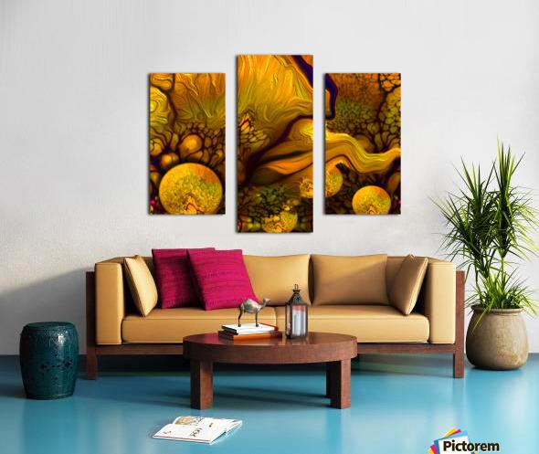 POLLENS SUMMER GLOW 6 Canvas print