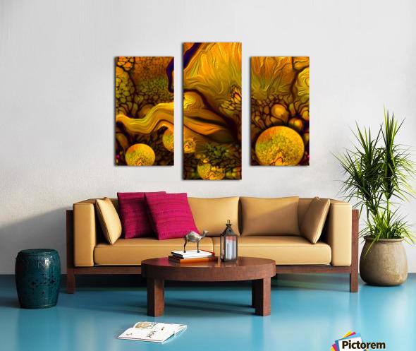 POLLENS SUMMER GLOW 5 Canvas print
