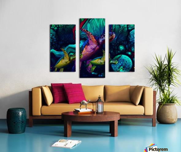 Turtles en Saison 5 Canvas print