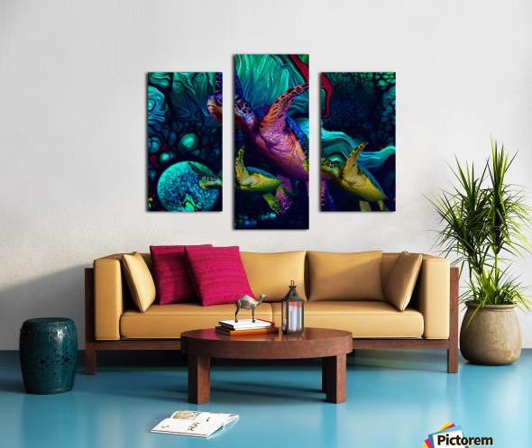 Turtles en Saison 6 Canvas print