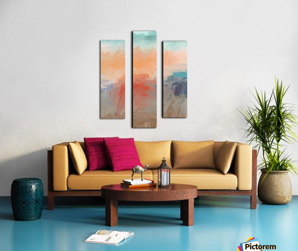 Hot Afternoon Canvas print