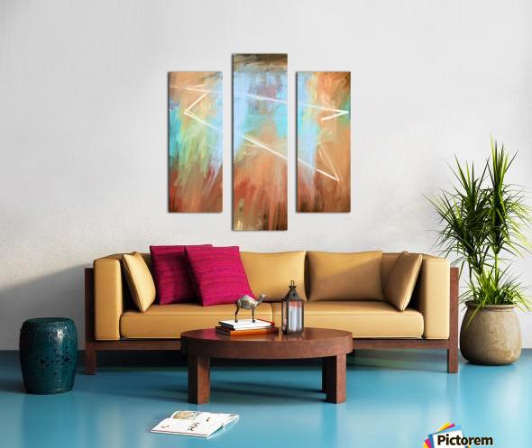Cosmic Meditation  Canvas print