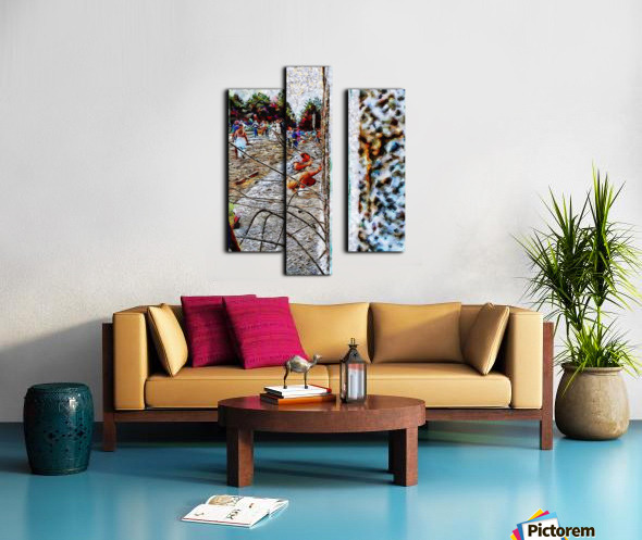 Fall of the Berlin Wall Canvas print