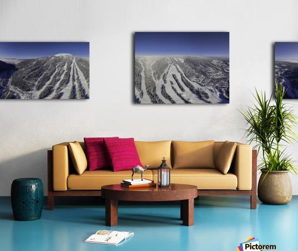 Mid Valley Canvas print