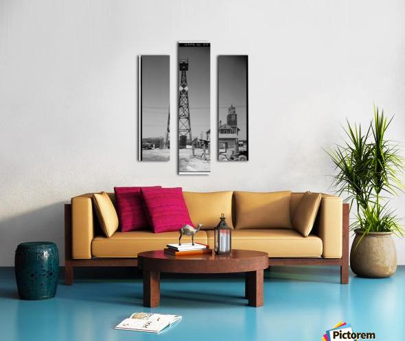 Mispillion-Beacon-Lighthouse-Delaware Canvas print