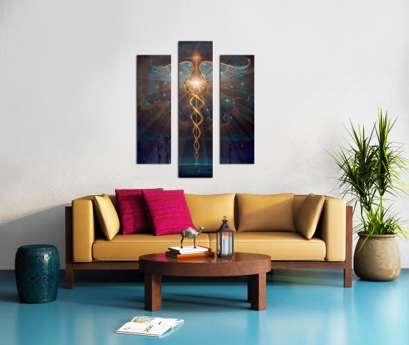 Heroes of the Healing Arts Canvas print