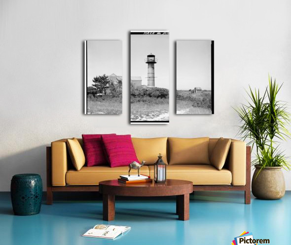 Monomoy-Point-Light-Station-Mass Canvas print