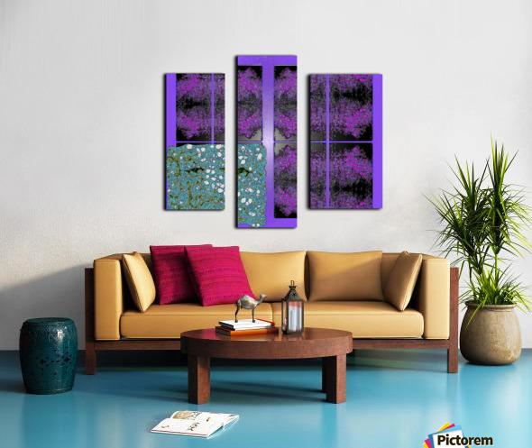 Spiritual Brainwaves Canvas print