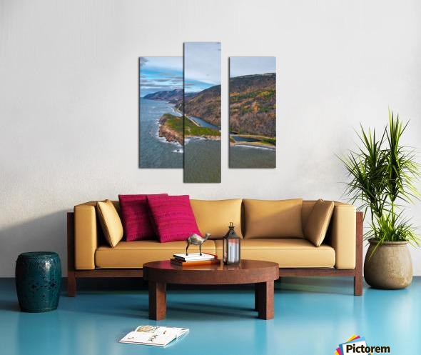 Custom Vert of Cabot Trail Canvas print