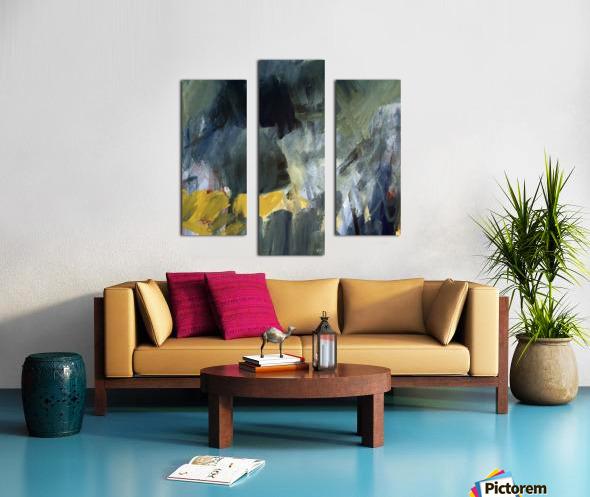 The Edge of the Garden Canvas print