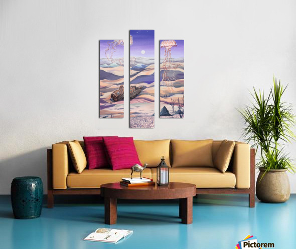 Submarine Shipwreck Canvas print